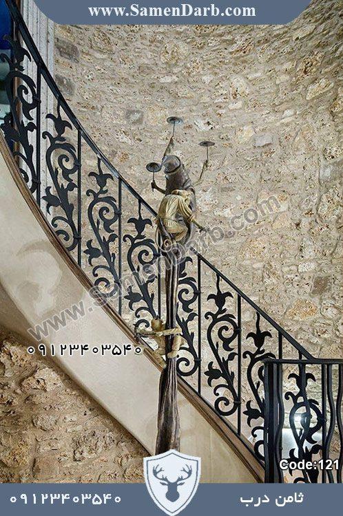 نرده راه پله درب ثمین